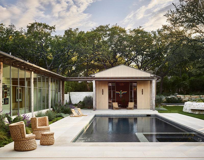 Современный взгляд на стиль кантри: интерьер дома в Техасе