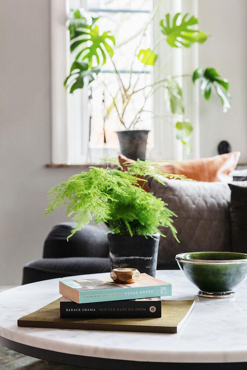 Светлая современная квартира в старинном доме на юге Швеции