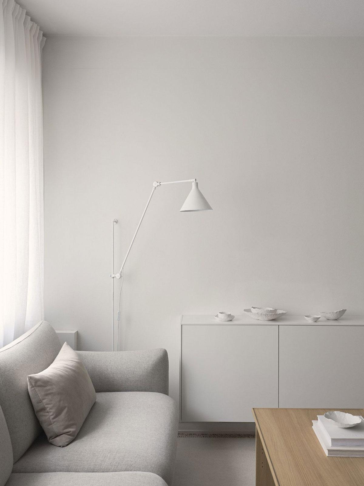 Светлый и воздушный интерьер квартиры композитора в Стокгольме (38 кв. м)