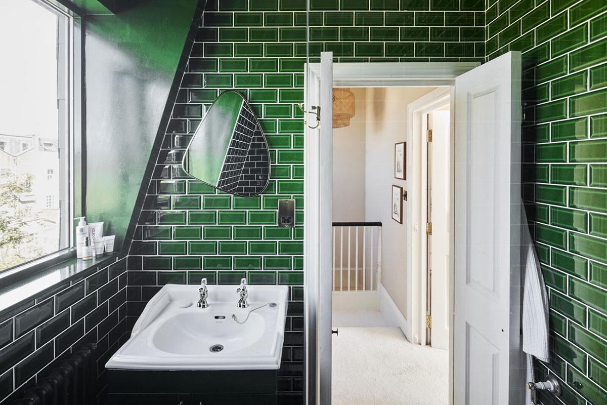 Приятные тёплые тона и много зелени: викторианский таунхаус в Лондоне