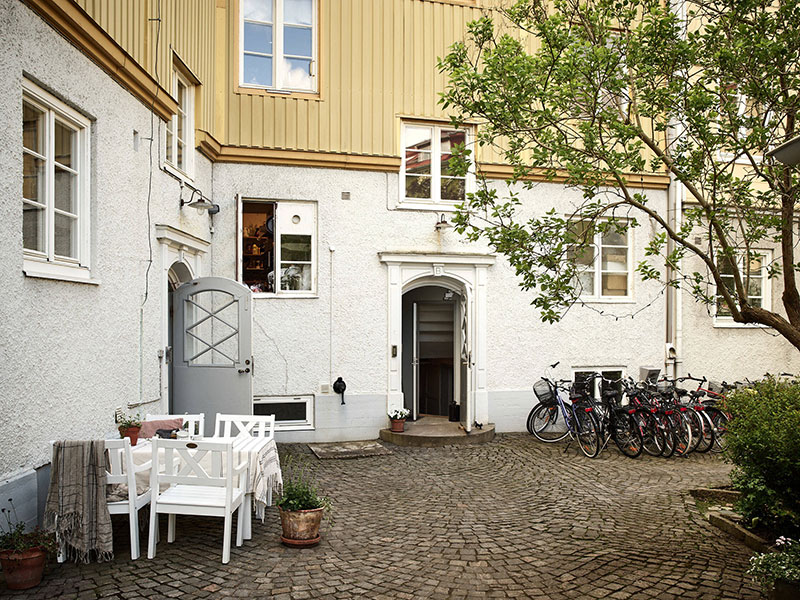 Спокойная и уютная жизнь на окраине Гетеборга (65 кв. м)
