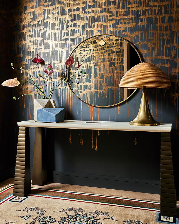 Мрамор, золото и сдержанные цветовые акценты: квартира-бутик в Нью-Йорке