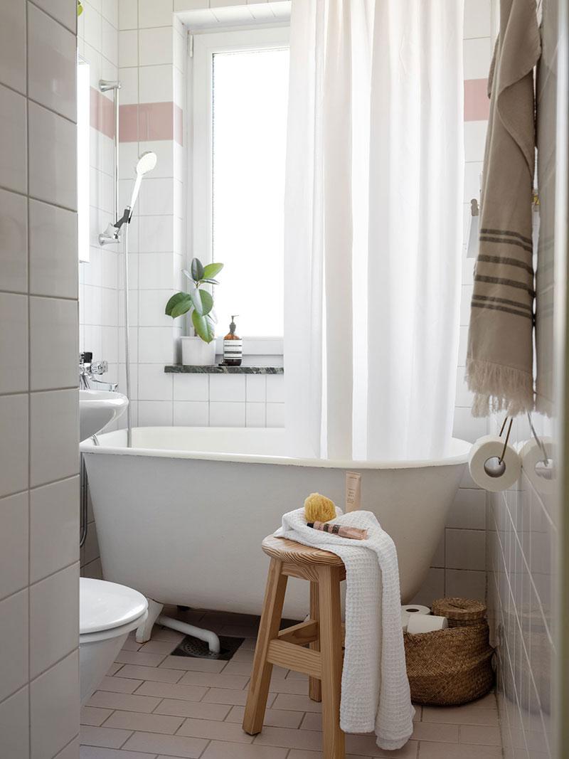 Бюджетный, но такой тёплый и приятный интерьер в Швеции (48 кв. м)