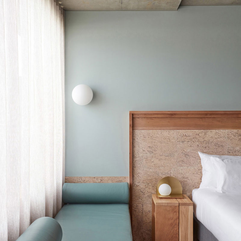Красивая архитектура и пастельная гамма: отель The Calile в Австралии