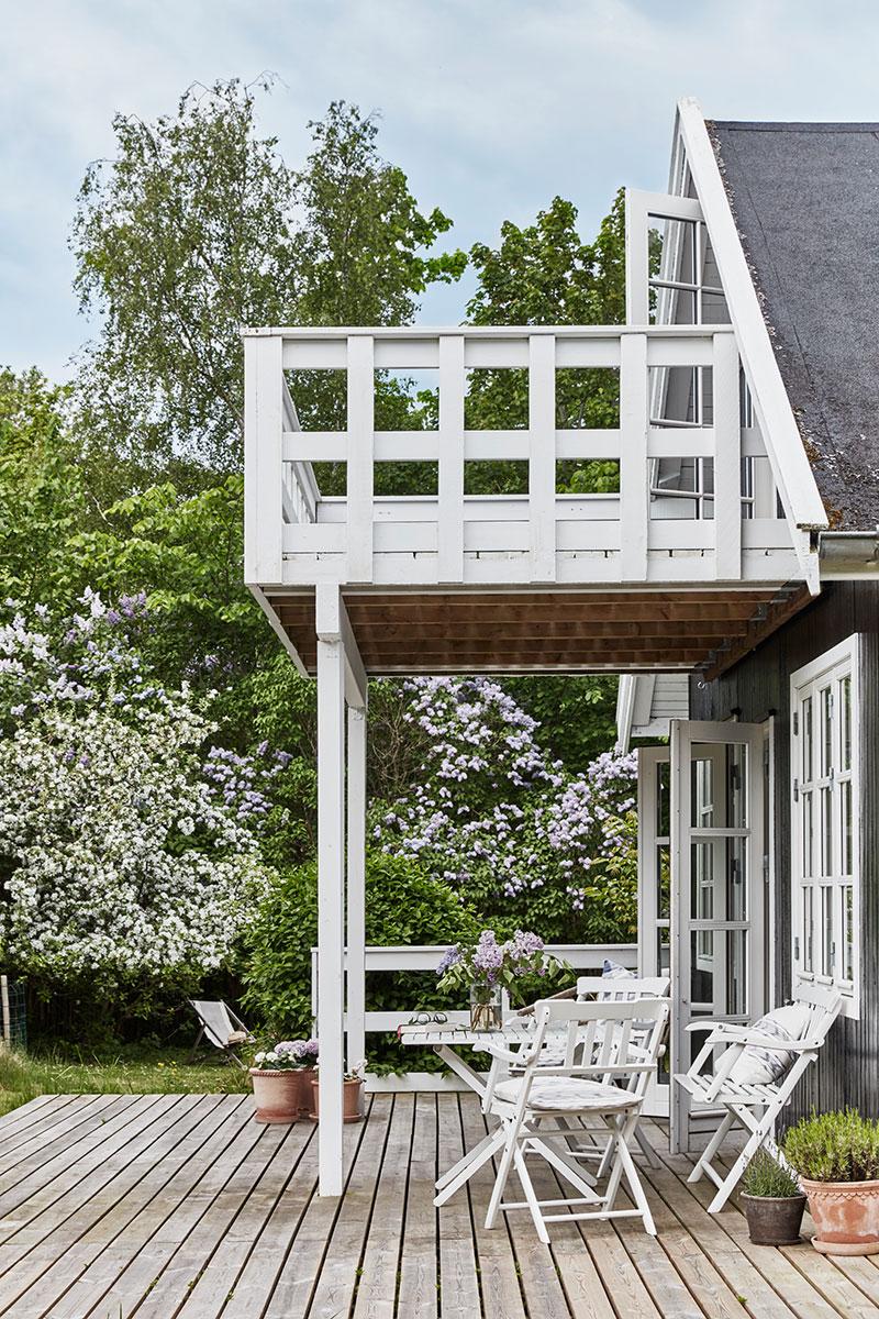 Место для перезагрузки: небольшая, но очень уютная дача дизайнера в Дании