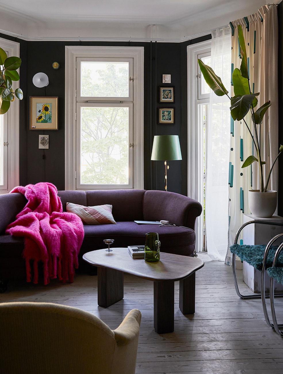 Новые цветные вдохновения от декоратора Dennis Valencia