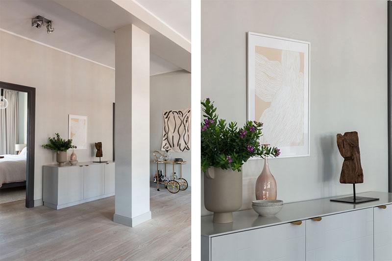 Роскошные окна и открытое пространство: квартира в Стокгольме