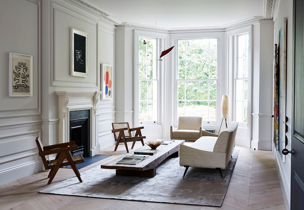 Как в изысканной арт-галерее: современный интерьер в доме 19 века в Лондоне