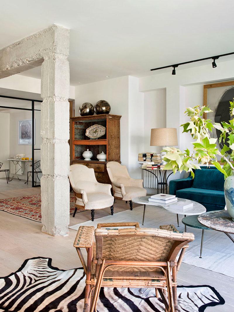 Полная света и воздуха: глобальная переделка квартиры в Мадриде