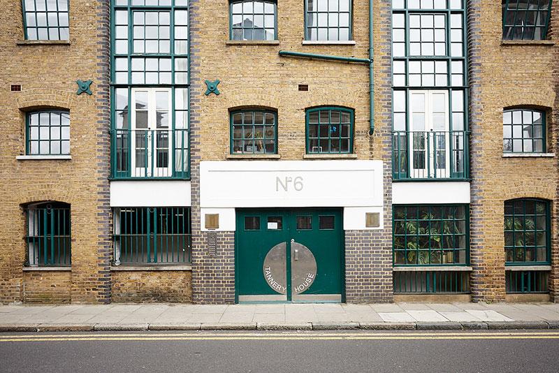 Лофт в здании бывшей кожевенной фабрики в Лондоне