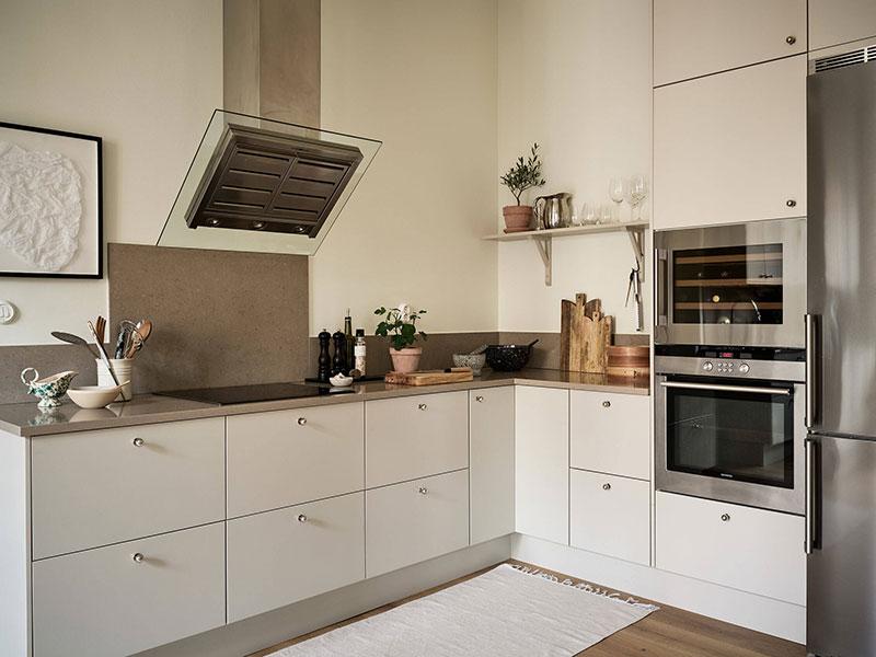Мягкий и тёплый интерьер квартиры в Гётеборге (78 кв. м)