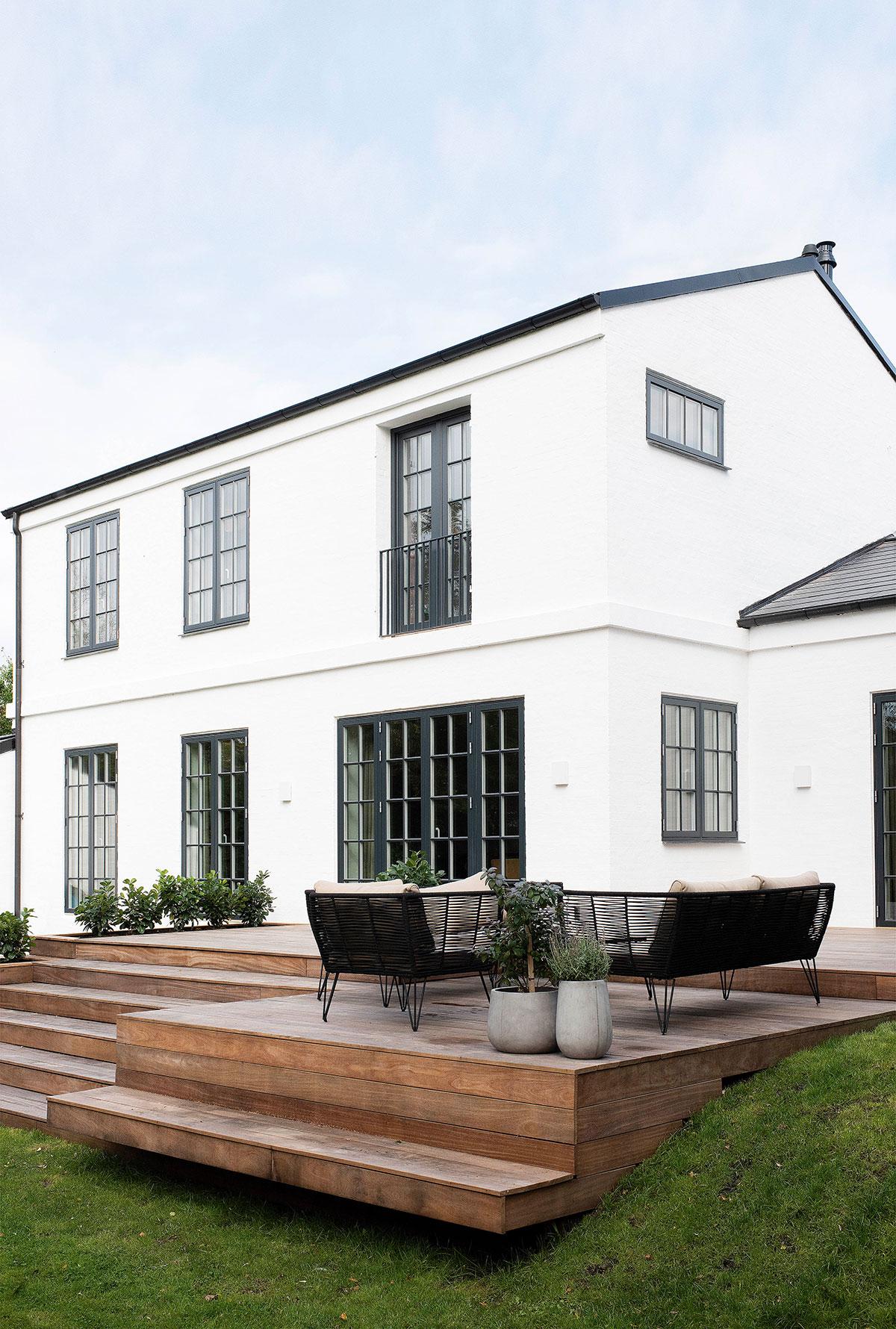 Из старинной виллы музыканта в функциональный дом для семьи: история из Дании