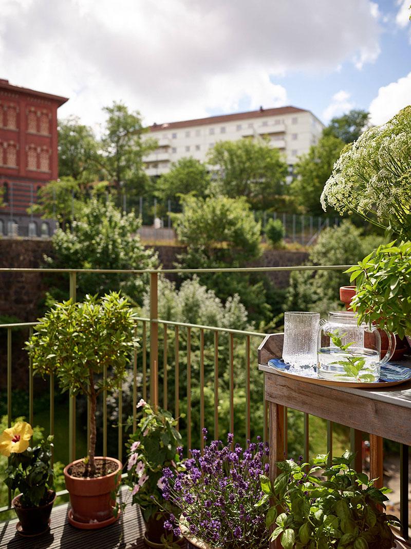 Уютная квартира с арочными окнами в Гётеборге (73 кв. м)