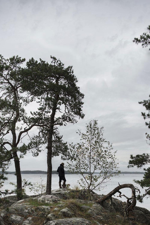 Особая северная амосфера в интерьере летнего коттеджа в Швеции