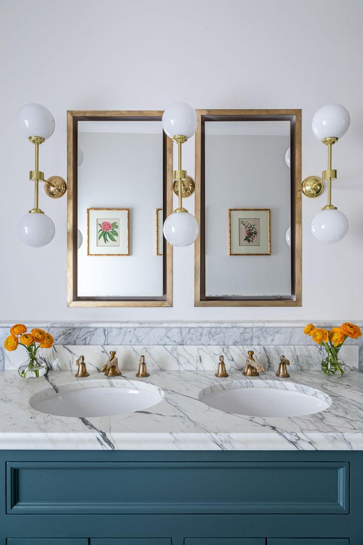 Прекрасный английский интерьер с красочным декором в Лондоне
