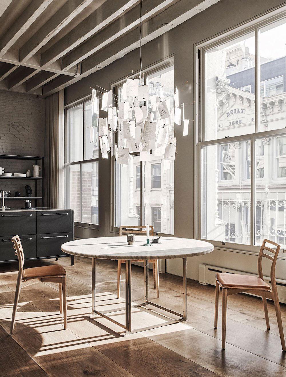 Американская мечта: крутой лофт основателей бренда Vipp в Нью-Йорке