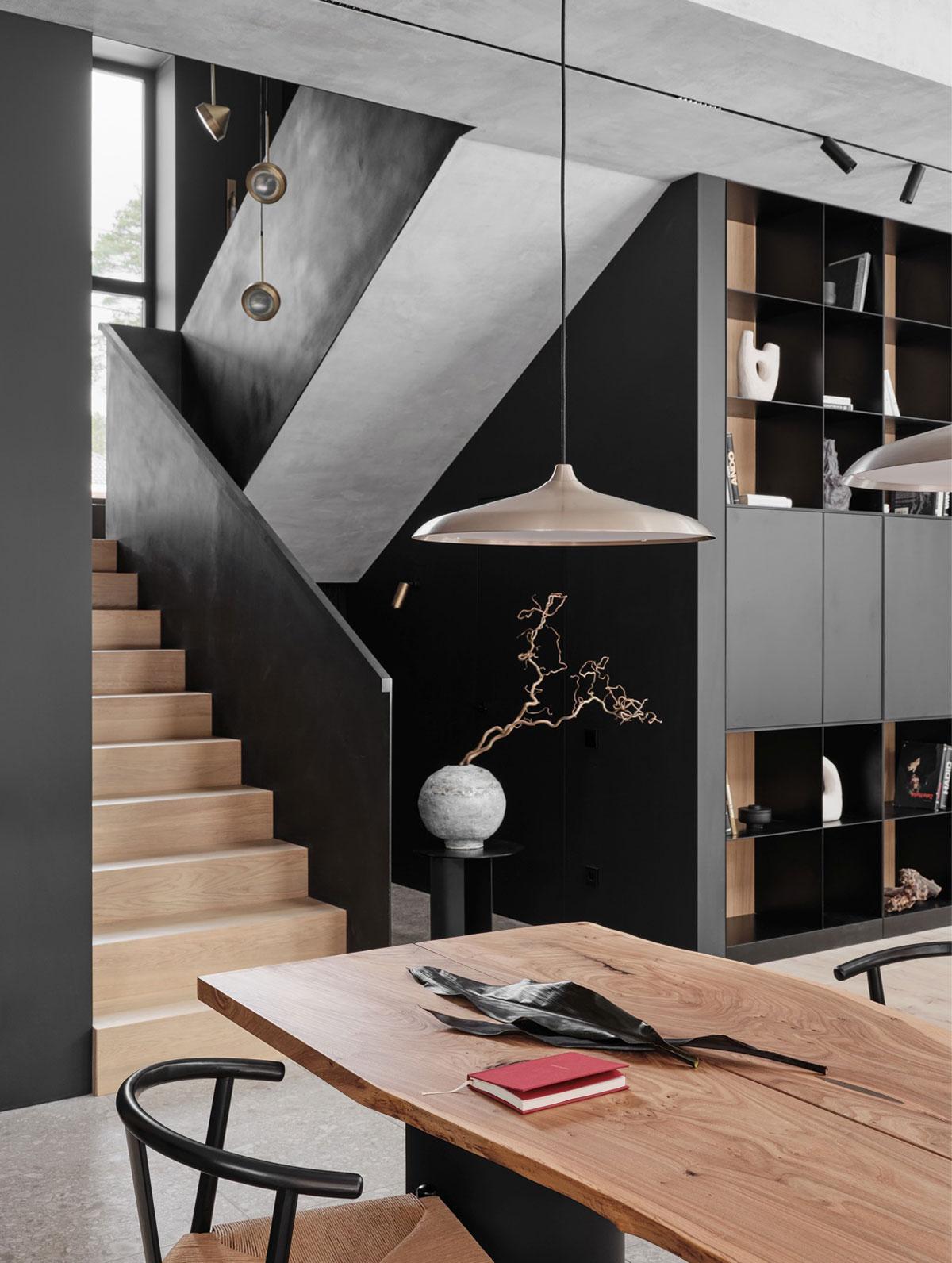 Как совместить скандинавские и японские мотивы в дизайне современного дома в Санкт-Петербурге (180 кв. м)