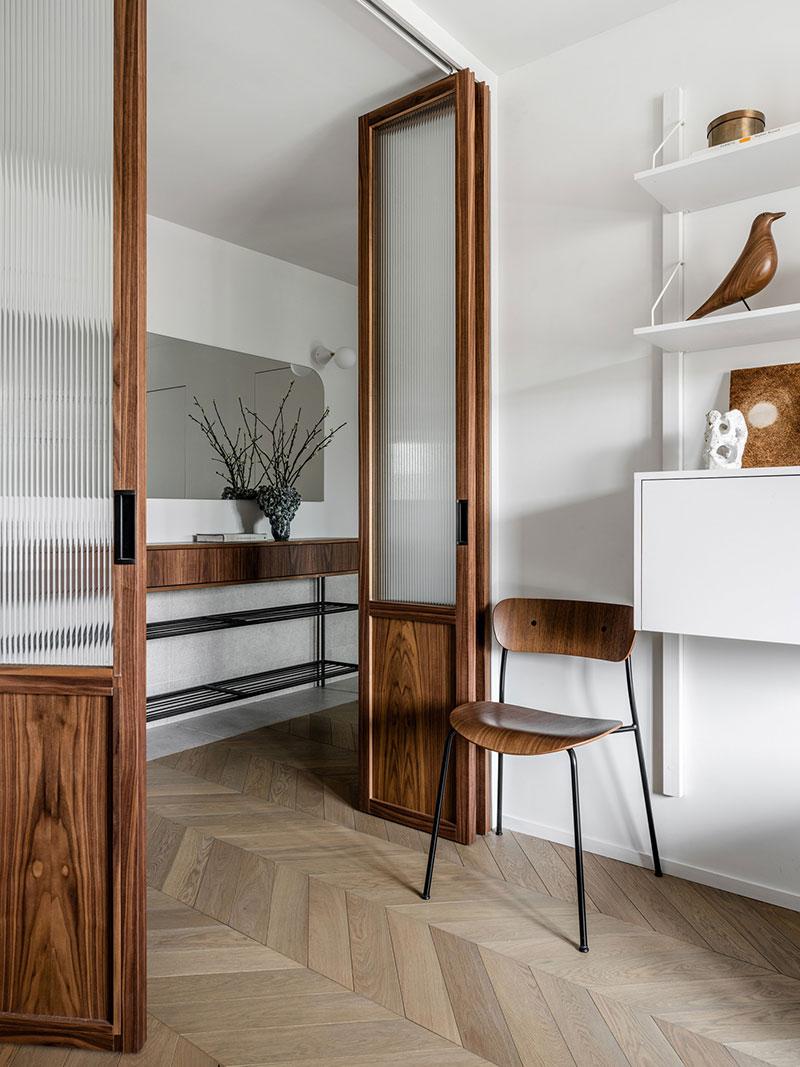 Лёгкий интерьер в скандинавском духе для молодой предпринимательницы в Москве (50 кв. м)