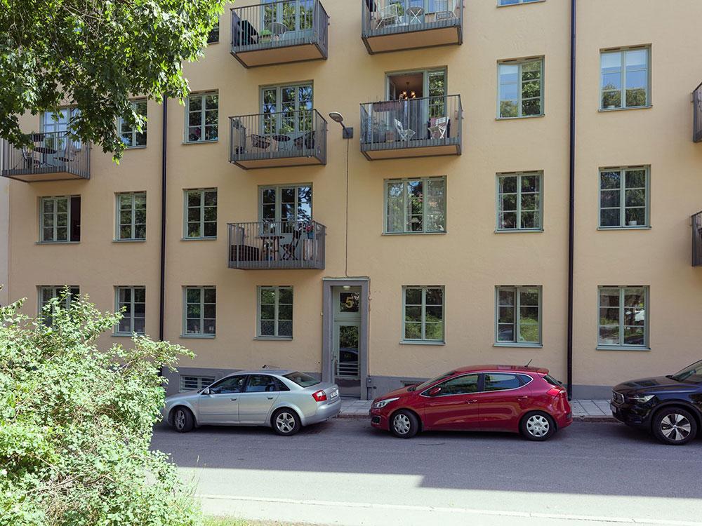 Когда природа близко: живой интерьер с ботаническими мотивами в Швеции (66 кв. м)