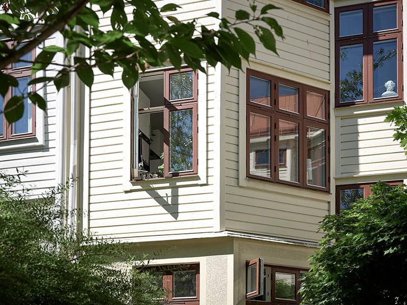 Свежий ремонт для квартиры в доме 1907 года в Гётеборге (53 кв.м)