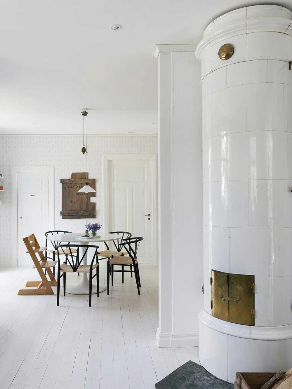 Идеальный коттедж для молодой семьи в Швеции, которая очень хотела жить за городом