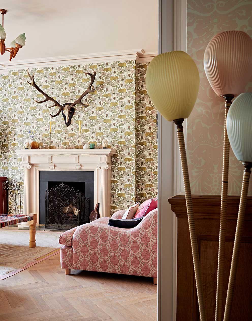 Уютный традиционный дом в Хэмпшире, наполненный жизнью и красками