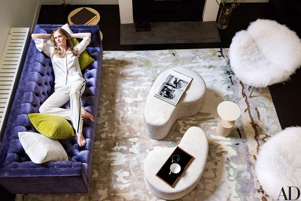 Модный лофт топ-можели в Нью-Йорке