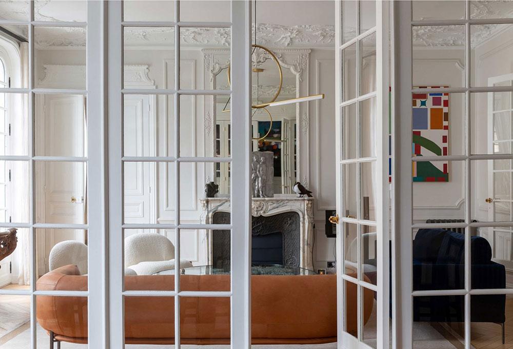 Роскошные апартаменты в Османском доме с видом на Пантеон в Париже