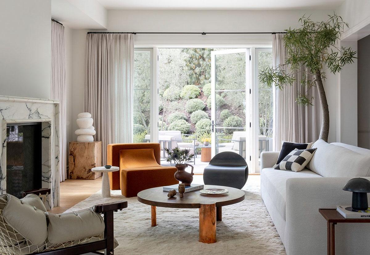 Спокойная роскошь в интерьере загородного дома в Калифорнии