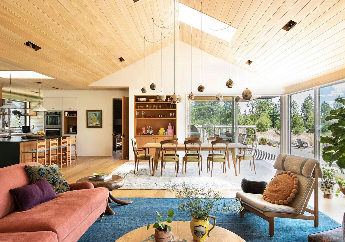 Царство принтов и необычных вещей: необыкновенно уютный дом в Орегоне