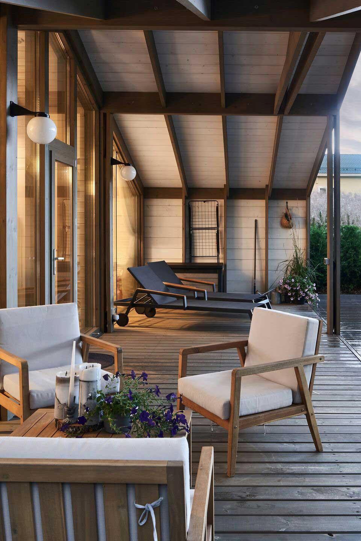 Как в Швеции: стильный модульный дом для молодой семьи под Санкт-Петербургом