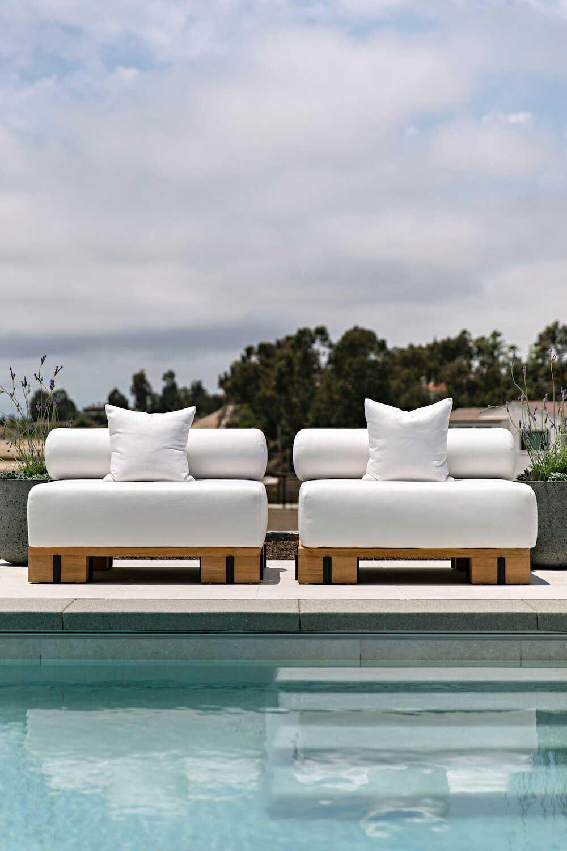 Современный средиземноморский стиль с калифорнийским привкусом